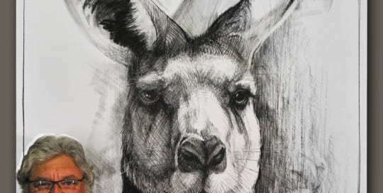 Portrait of Kangaroo 16A by Michael Chorney