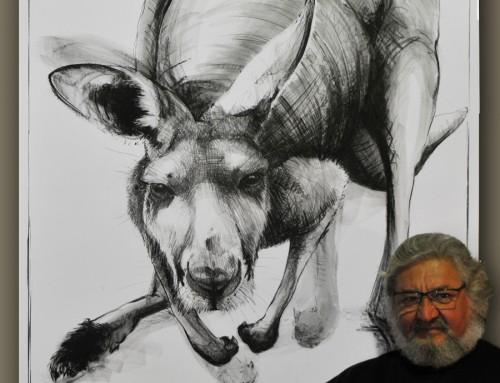 Portrait of Kangaroo No. 19b