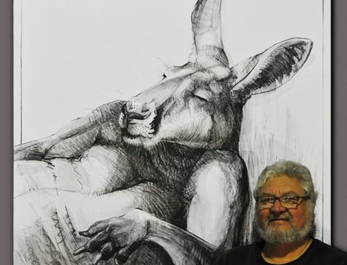 Drawing of Kangaroo No. 24