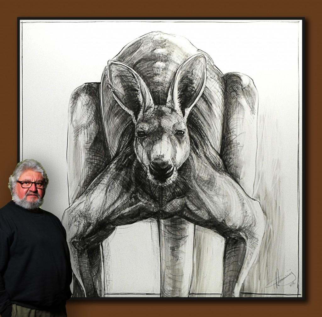 Portrait of Kangaroo 30